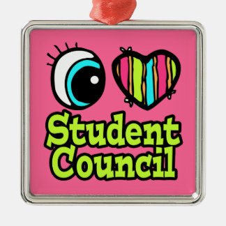 Consejo de estudiantes brillante del amor del adorno para reyes
