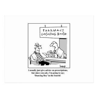 Consejo de la farmacia tarjetas postales