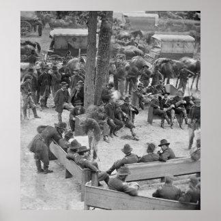 Consejo de la guerra civil 1864 impresiones