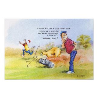 Consejo del golf foto