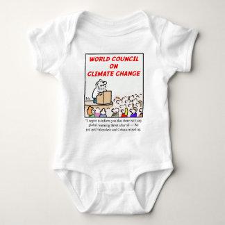 Consejo mundial en cambio de clima polera