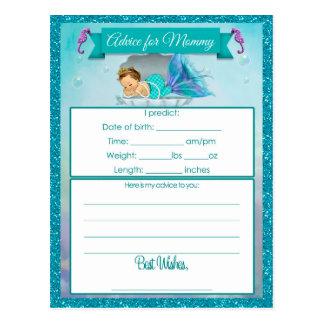 Consejo para las tarjetas de la fiesta de tarjeta postal
