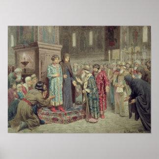 Consejo que llama a Michael F. Romanov a Póster