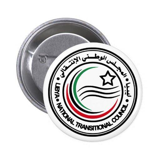 Consejo transitorio nacional del sello de Libia Pin