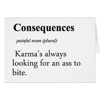 Consequences Definition Cards
