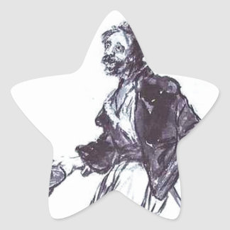 Consequences of War by Francisco Goya Star Sticker