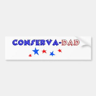 conservadad bumper sticker