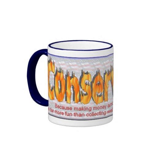 conservador 1 taza de dos colores