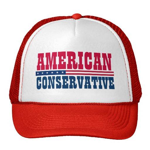 Conservador americano gorros bordados