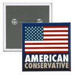 Conservador americano pins
