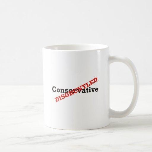 Conservador/contrariedad Taza De Café
