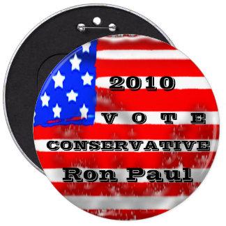 Conservador de 2012 votos pin