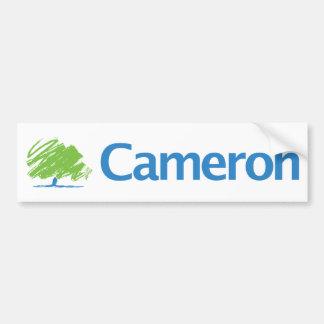 Conservador de Cameron Etiqueta De Parachoque