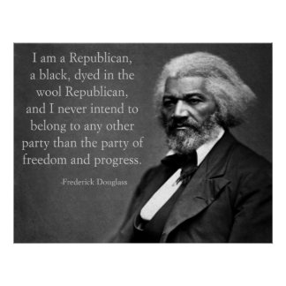 Conservador de Frederick Douglass Póster
