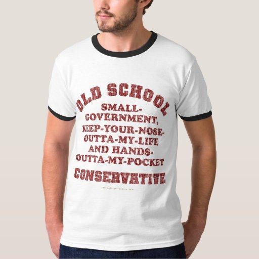 Conservador de la escuela vieja polera