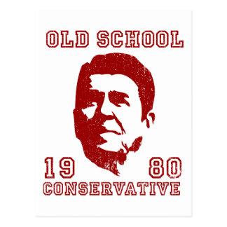 Conservador de la escuela vieja postal