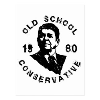 Conservador de la escuela vieja postales