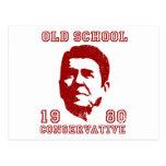 Conservador de la escuela vieja tarjetas postales