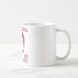 Conservador de la escuela vieja taza de café