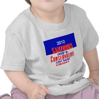 CONSERVADOR de Santorum Camiseta