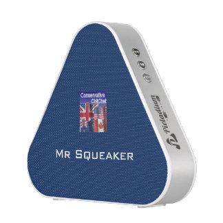 ` Conservador de Sr. Squeaker del ` de la charla Altavoz Bluetooth