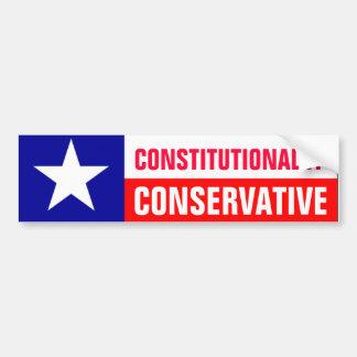 Conservador de Tejas Pegatina Para Auto