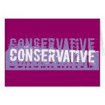 Conservador del Grunge Tarjeta