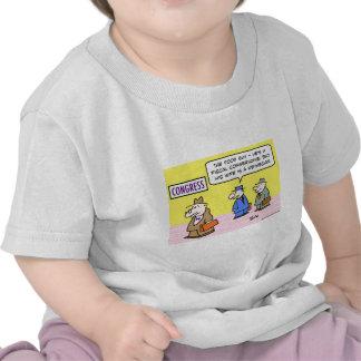 conservador fiscal del congreso keynesiano de la camiseta