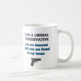 Conservador liberal taza clásica
