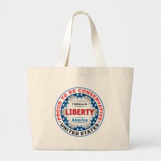 Conservador orgulloso bolsas