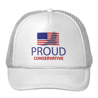 Conservador orgulloso gorras