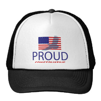 Conservador orgulloso gorras de camionero