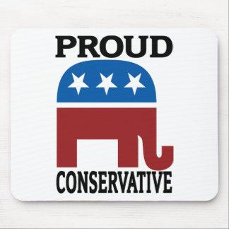 Conservador orgulloso tapete de raton