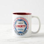 Conservador orgulloso taza