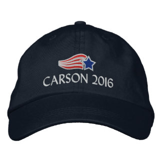 Conservador político de Ben Carson 2016 Gorra Bordada