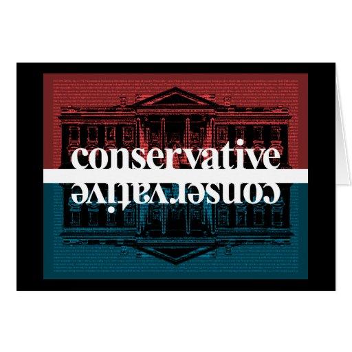 Conservador Tarjeta De Felicitación