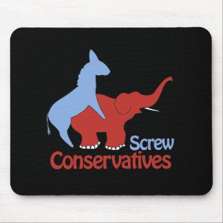 Conservadores del tornillo mousepad