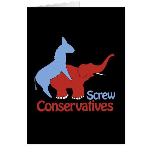 Conservadores del tornillo tarjeton