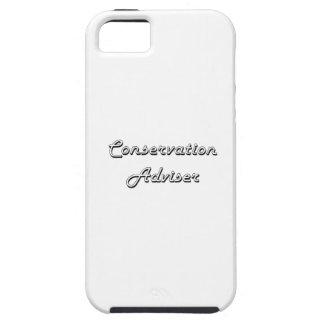 Conservation Adviser Classic Job Design iPhone 5 Cases