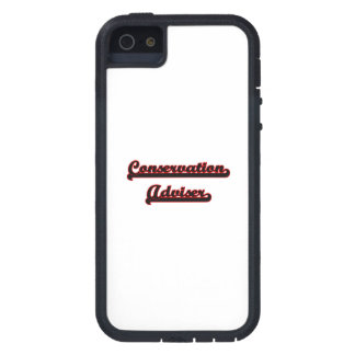 Conservation Adviser Classic Job Design Cover For iPhone 5