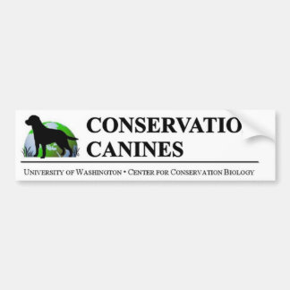 Conservation Canine Bumper Sticker