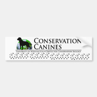 Conservation Canine Bumperstickers Bumper Stickers