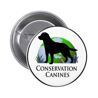 Conservation Canine button