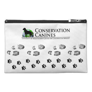 Conservation Canine Gear Paw Prints & Boot Prints Travel Accessory Bag