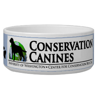 Conservation Canines Cat Food Bowl