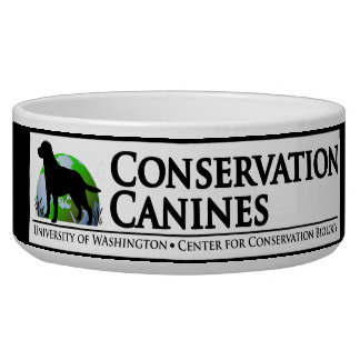 Conservation Canines Dog Bowl