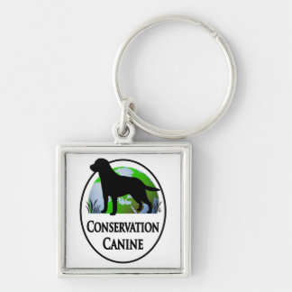Conservation Canines Gear Keychain