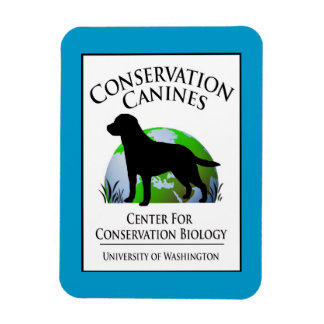 Conservation Canines Gear Vinyl Magnets