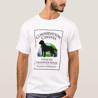 Conservation Canines Logo Tee