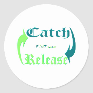 Conservation Collection by FishTs.com Classic Round Sticker